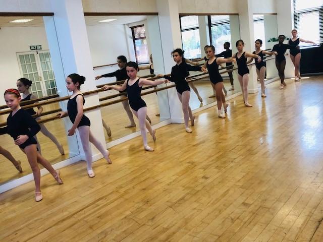 Ballet Class at First Steps Academy of Dance