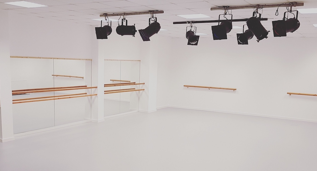 Image of studio space avalable to hire from First Steps Dance Academy